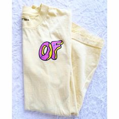 Odd Future O.F Donut Tee Let me know if you have any questions! ✖️ of Tops Tees - Short Sleeve