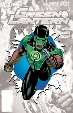 During today's DC Nation panel Geoff Johns mentioned a little bit of information about the new Green Lantern that will appear in the coming months, in particular he addressed the reason why the character carries a gun. According to Johns, the new ring slinger is skeptical about the concept of a ring powered solely by energy.