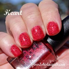 Mckfresh Nail Attire Planeteers Collection swatches. heart