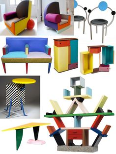 The Memphis Group Furniture (1981-1987)