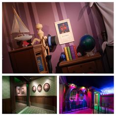 Here's a sneak peek into a new interactive queue that will debut at Peter Pan's Flight at Magic Kingdom park very soon! Guests will be able to watch Tinker Bell fly around, interact with toys, see their own shadows come alive on the wall and get a sprinkle of pixie dust before they head off into Never Land with Peter Pan.