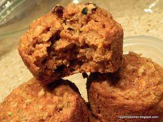 Apple Zucchini Carrot Muffins