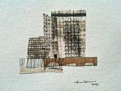 Kikis Alamo. Han made paper collage.