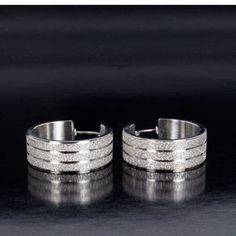 Stainless Steel Hoops now featured on Fab.