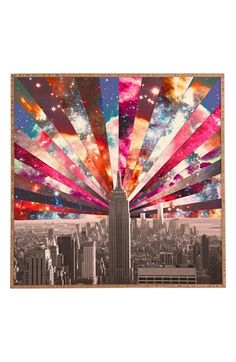 DENY+Designs+'Bianca+Green+-+Star+New+York'+Wall+Art+available+at+#Nordstrom