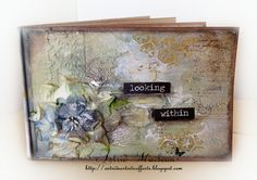 Tutorial to make mini booklet by Astrid (mixed media artist)