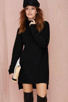 Line & Dot Christensen Oversized Sweater | Shop Clothes at Nasty Gal
