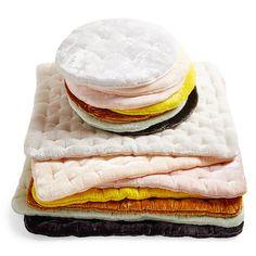 Luxurious silk velvet cushions handmade in Vietnam - Shop Talk: ABC Carpet & Home