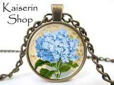 Vintage -  Victorian Flowers handmade necklace, Handmade Vintage jewelry necklace, best price and fast shipping by KaiserinShop on Etsy