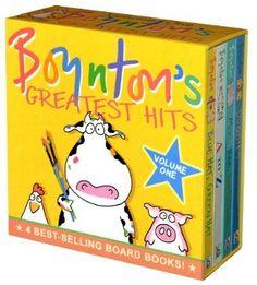 Sandra Boynton books