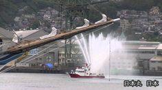 長崎帆船まつり 入港パレード