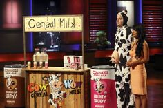 Cow Wow Cereal Milk Organic Cereal Milk  on Shark Tank