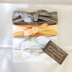 Jersey Knit Baby Girl Headband Tie Knot - Pastel - Light Pink - Purple - Blue - Lavender -jersey -bow -tie knot -baby toddler adult :TK on Etsy, $8.95
