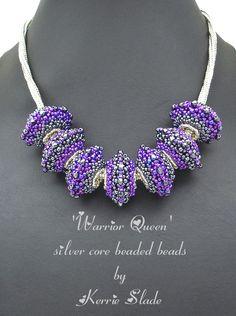 Beaded beads by Kerrie Slade