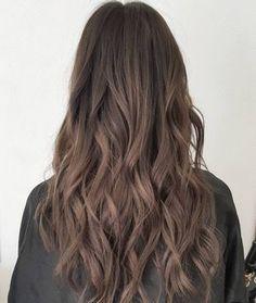 Long+Ash+Brown+Hair More