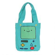 Adventure Time Beemo Tote Bag
