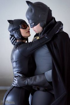 Batman and Catwoman Cosplayers Michael Cox and Ivy Cosplay
