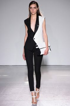 Magda Laguinge / Costume National Spring '13 RTW #runway #fashion