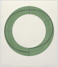 Robert Mangold  Ring Image Study, 2009