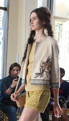 Tory Burch Spring 2013. Photo courtesy of Habitually Chic.