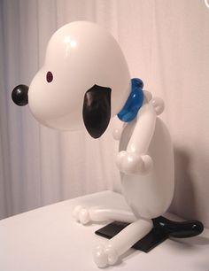Snoopy balloon sculpture #snoopy-balloon sculpture #snoopy balloon character #snoopy-balloon character #snoopy balloon art #snoopy-balloon art #snoopy balloon twist #snoopy-balloon twist