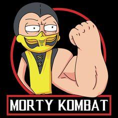 Morty Kombat - NeatoShop