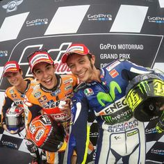 Sachsering podium motogp 2015