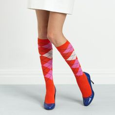 Argyle socks by Kate Spade