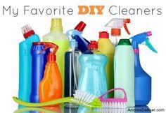 My Favorite DIY Cleaners
