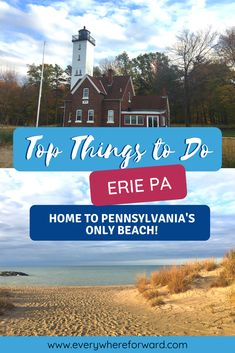 Top things to do in Erie Pennsylvania. Everything you need to know about visiting Erie. Day trips in Pennsylvania, weekend trips in Pennsylvania. Travel Usa, Travel Tips, Travel Destinations, Travel Guides, Weekend Trips, Day Trips, United States Cities, Erie Pennsylvania, Erie County