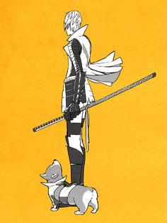 Sengoku Basara 死神BASARA 「主従」/「かまぼこ」のイラスト [pixiv]