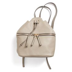 If you're a lady on-the-go, sometimes a handbag won't cut it. A neutral backpack in faux leather updates this grade-school favorite for adults. Stitch Fix   Jude Zip Detail Backpack