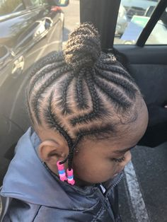 Little Girls Natural Hairstyles, Toddler Braided Hairstyles, Toddler Braids, Lil Girl Hairstyles, Black Kids Hairstyles, Braids For Kids, Girls Braids, Cool Hairstyles, Wedding Hairstyles