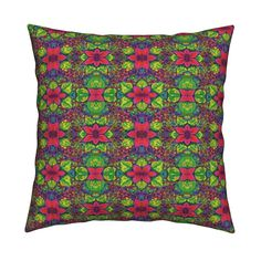 Catalan Throw Pillow featuring LIKE IN INDIA Medium by paysmage | Roostery Home Decor