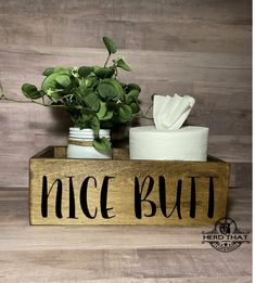 Bathroom Box, Bathroom Decor Signs, Bathroom Shelves Over Toilet, Bathroom Towel Decor, Towel Holder Bathroom, Bathroom Quotes, Bathroom Crafts, Rustic Bathroom Decor, Wooden Bathroom
