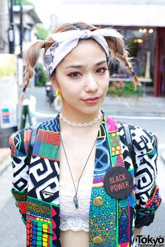 Una's Vintage Fashion in Harajuku