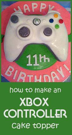 how to make an X-Box Cake