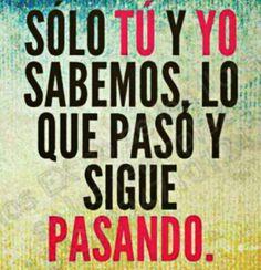 Solo tu y yo.... #Nosotrosensilencio.