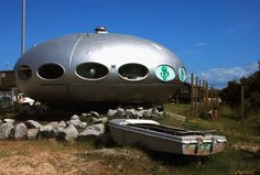 Flying saucer house.  Hatteras Island.