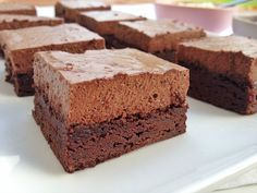 Chocolate Brownie Mousse Cake - nzgirl