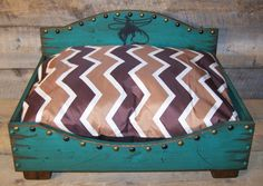 Medium Dog Bed, Western Dog Bed, Wood Dog Bed, Rustic Dog Bed, Custom Dog Bed