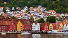 bergen norway - Bing images Bergen, San Francisco Skyline, Norway, Bing Images, Travel, Voyage, Viajes, Traveling, Trips
