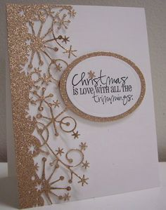 Stamping with Loll: Memory Box Frostyville Border die; Amy R Christmas stamp