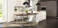 Keittiön pöytä ja työpöytä