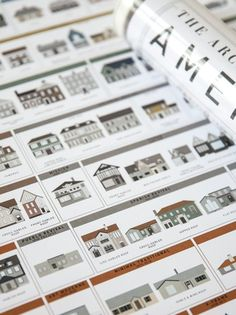 Pop Chart Lab | Design + Data = Delight | The Architecture of American Houses