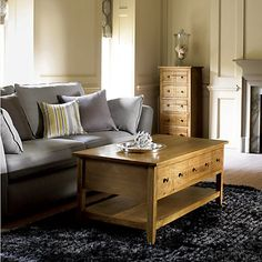 Buy John Lewis Grove Living Room Furniture, Oak Online at johnlewis.com