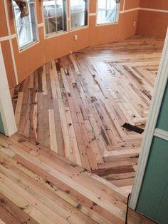 #Pallet #Flooring Cheaper Than Wood - DIY   101 Pallet Ideas