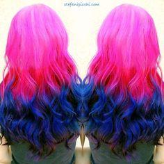 orange and purple hair - Google Search