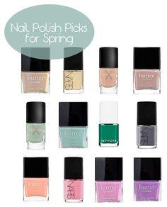 12 Perfect nail polish colors for Spring