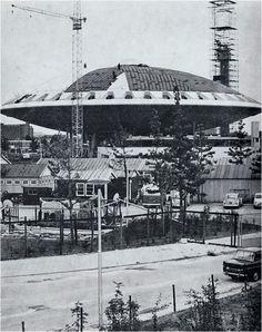 Bouw van het Evoluon - 1961